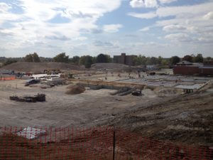 Progress on the Energy Control Center and Services Building - October 8, 2015
