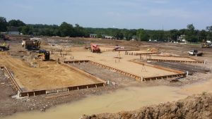 Fulton State Hospital construction progress - July 21, 2016