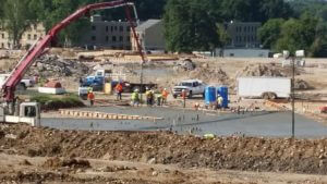 Fulton State Hospital construction progress - August 19, 2016