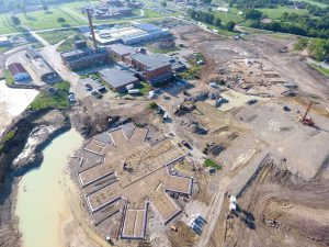 Aerial Veiw of Fulton State Hospital Construction