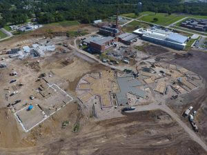 Fulton State Hospital construction progress - September 16, 2016