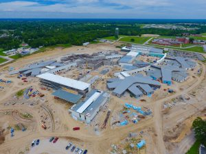Fulton State Hospital construction progress - August 10, 2017