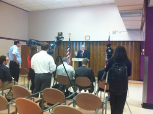 Governor Nixon's press conference at Fulton State Hospital