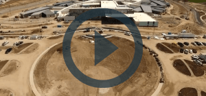 Aerial video of Fulton State Hospital construction - 04-17-18