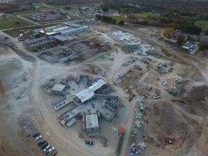 Fulton State Hospital construction progress - October 2, 2016