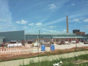 Fulton State Hospital Construction Progress - May 19, 2016