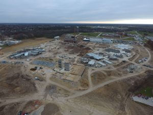 Fulton State Hospital construction progress - November 30, 2016